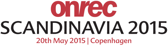 The Onrec Scandinavia Conference 2015 - 20th May 2015