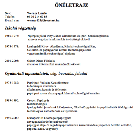 bar resume sle find attached my resume in german